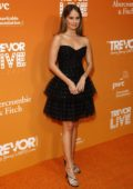 Debby Ryan attends The Trevor Project's TrevorLIVE LA 2019 at The Beverly Hilton Hotel in Beverly Hills, Los Angeles