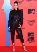 Doutzen Kroes attends the MTV European Music Awards 2019 at FIBES Conference and Exhibition Centre in Seville, Spain