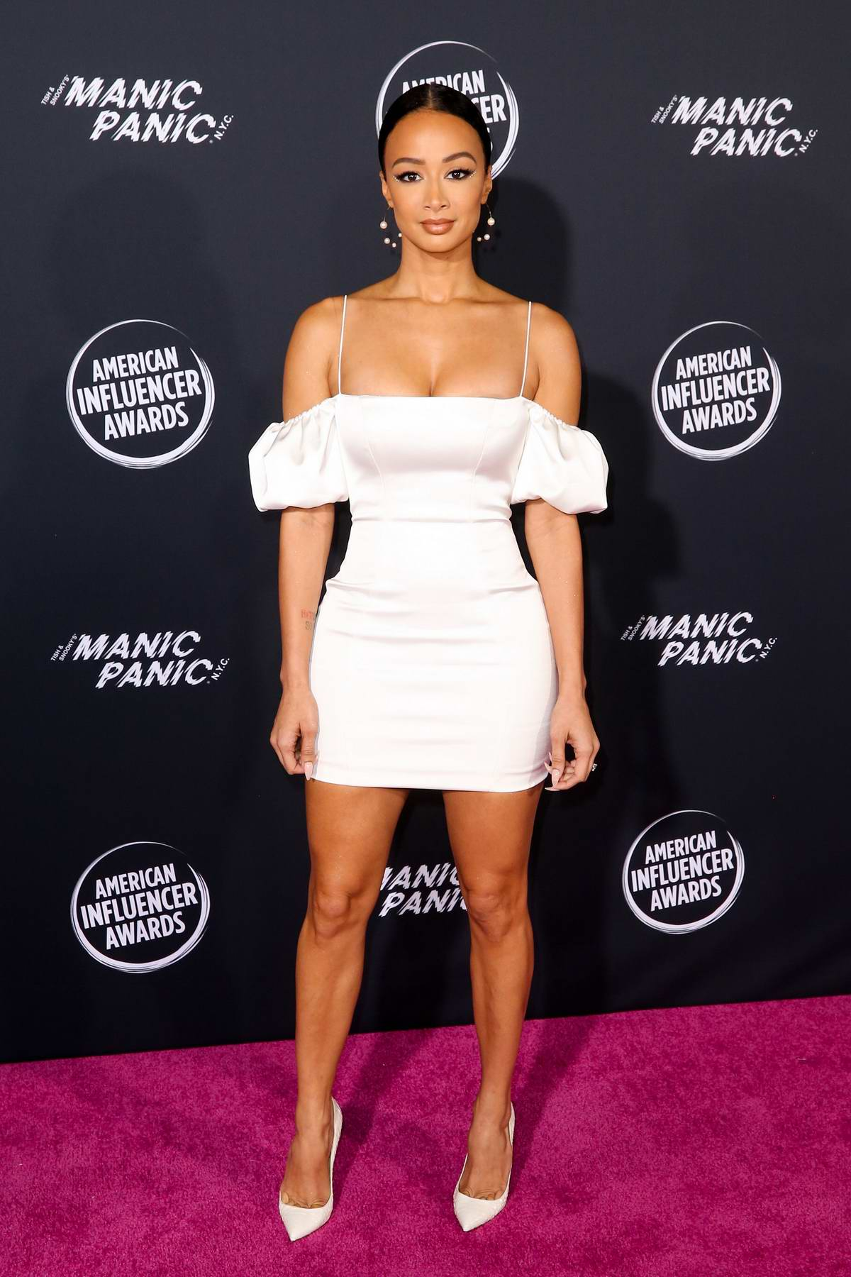 Draya Michele attends the 2nd Annual American Influencer Awards at The Dolby Theatre in Hollywood, California
