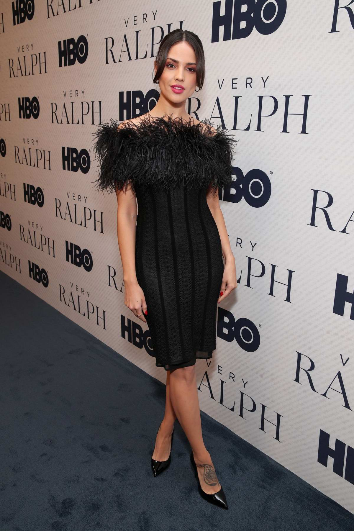Eiza Gonzalez attends the Premiere of HBO Documentary film 'Very Ralph' at The Paley Center in Beverly Hills, Los Angeles