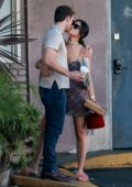 Eiza Gonzalez packs on some PDA with Luke Bracey while out for lunch at Blu Jam Cafe in Los Angeles