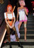 Elsa Hosk attends Heidi Klum's 20th Annual Halloween Party at Cathédrale Restaurant in New York City