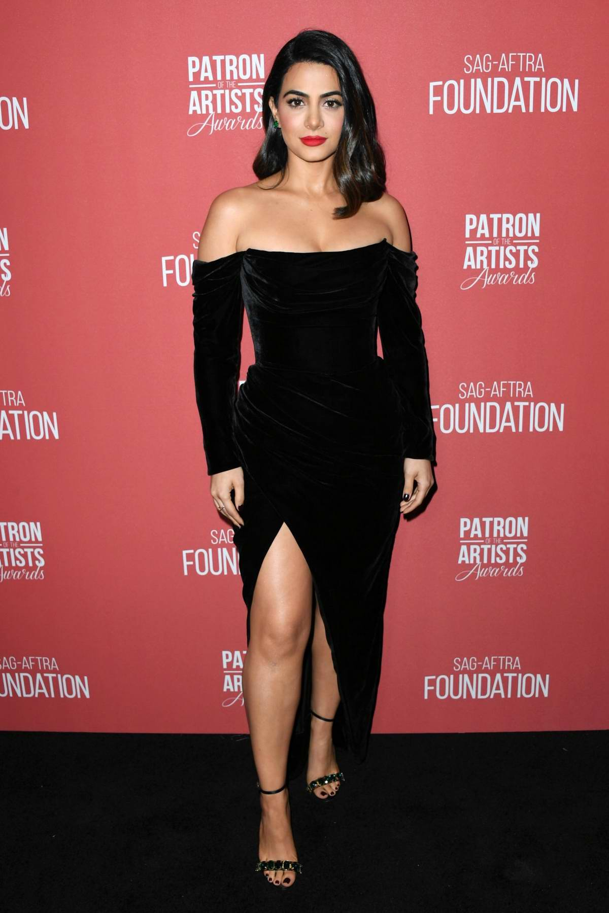 Emeraude Toubia attends the 4th Annual Patron of the Artists Awards in Los Angeles
