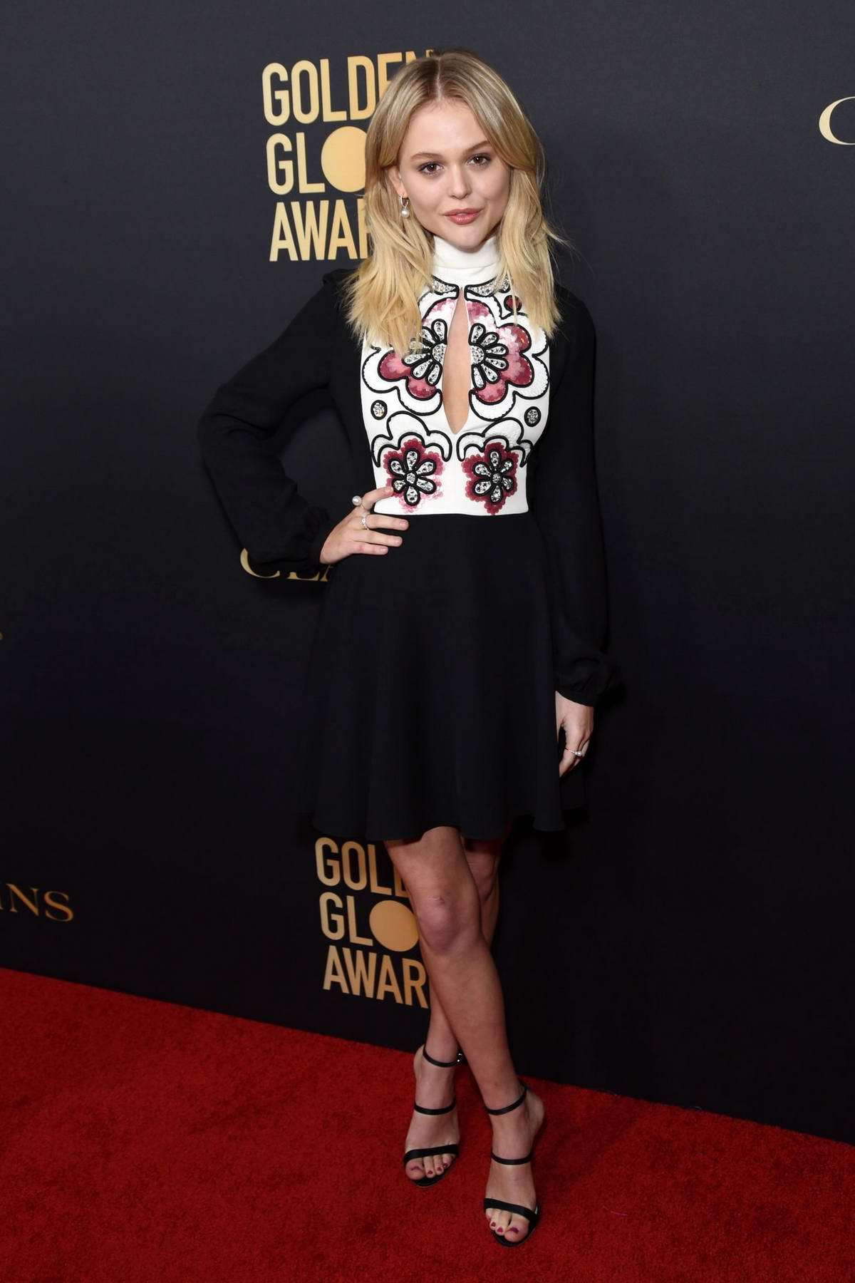 Emily Alyn Lind attends the Golden Globe Ambassador Launch Party in Los Angeles