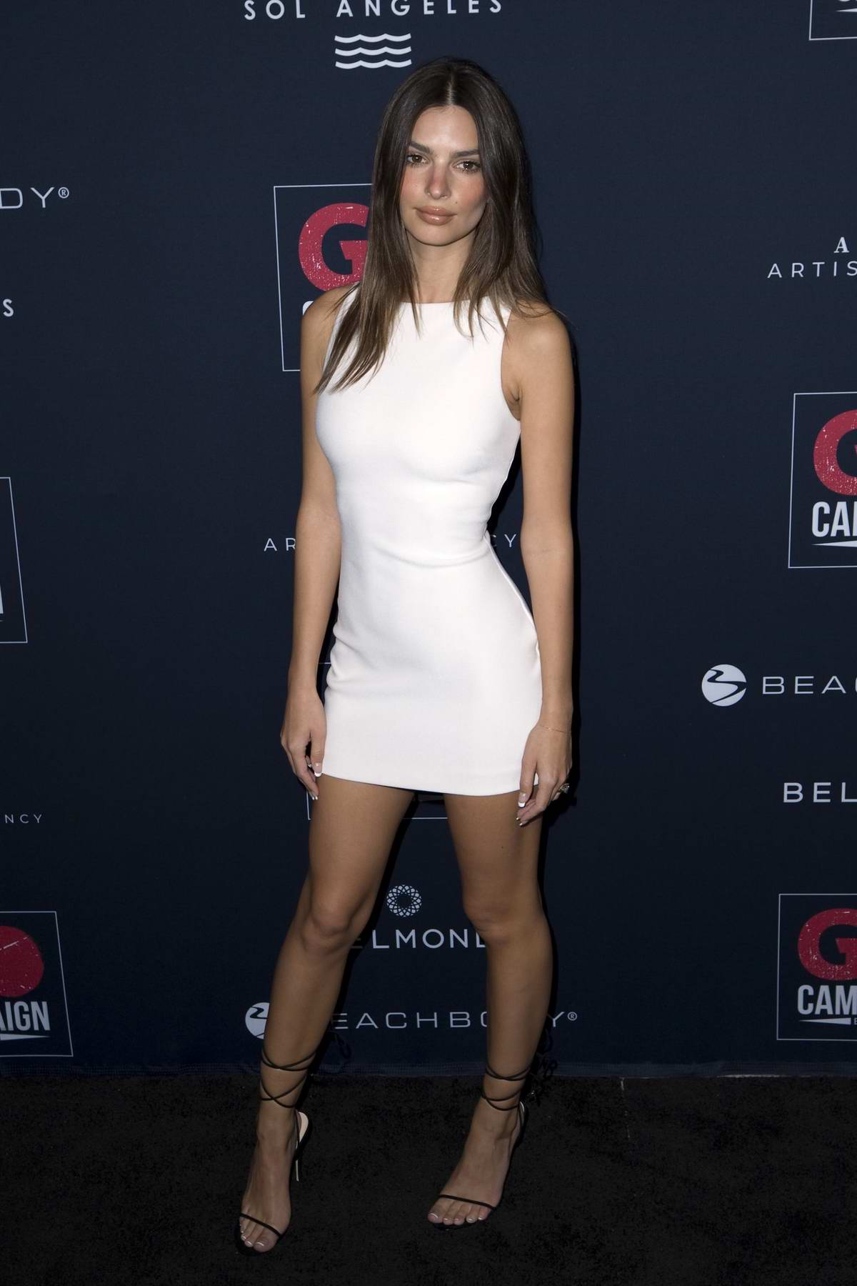 Emily Ratajkowski attends the GO Campaign's 13th Annual Gala at NeueHouse in Hollywood, California