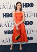 Emma Roberts attends the Premiere of HBO Documentary film 'Very Ralph' at The Paley Center in Beverly Hills, Los Angeles