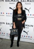 Eva Longoria attends PUMA x Balmain Launch Event at Milk Studios in Los Angeles