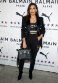 Eva Longoria attends PUMA x Balmain Launch Event at Milk Studios in Los Angeles
