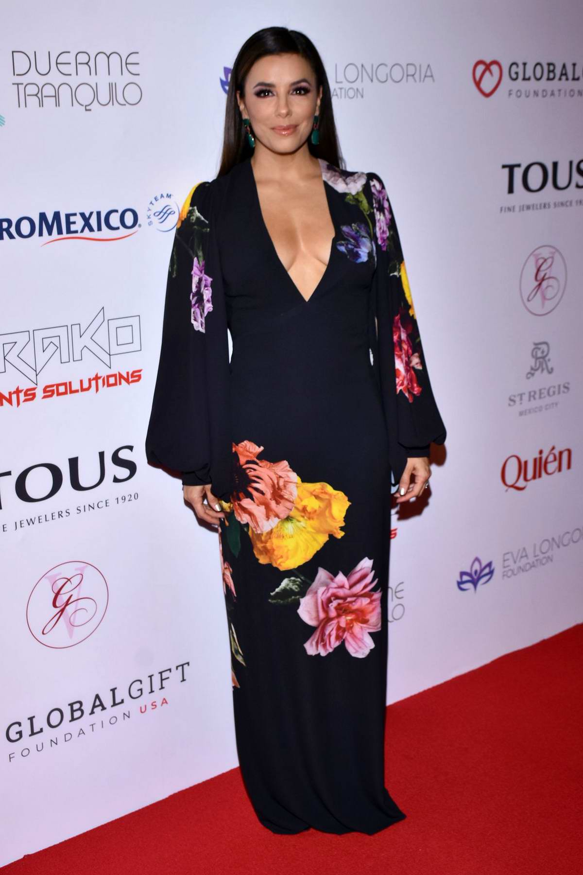 Eva Longoria attends the 5th Global Gift Foundation Gala in Mexico City, Mexico
