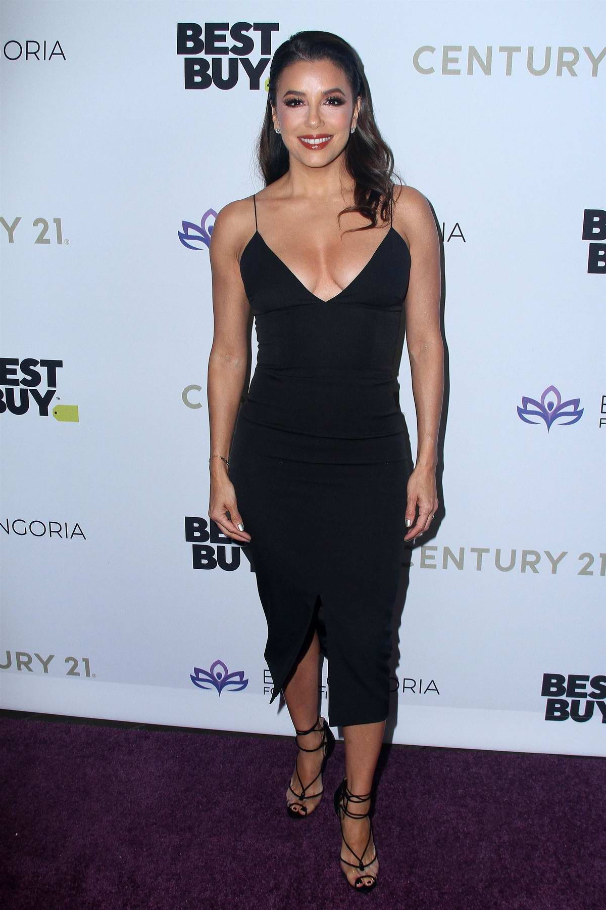 Eva Longoria attends The Eva Longoria Foundation Gala at the Four Seasons Los Angeles in Beverly Hills, California