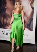 Florence Pugh attends the Premiere of Netflix's 'Marriage Story' at DGA Theater in Los Angeles