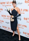 Georgia Fowler attends Heidi Klum's 20th Annual Halloween Party at Cathédrale Restaurant in New York City