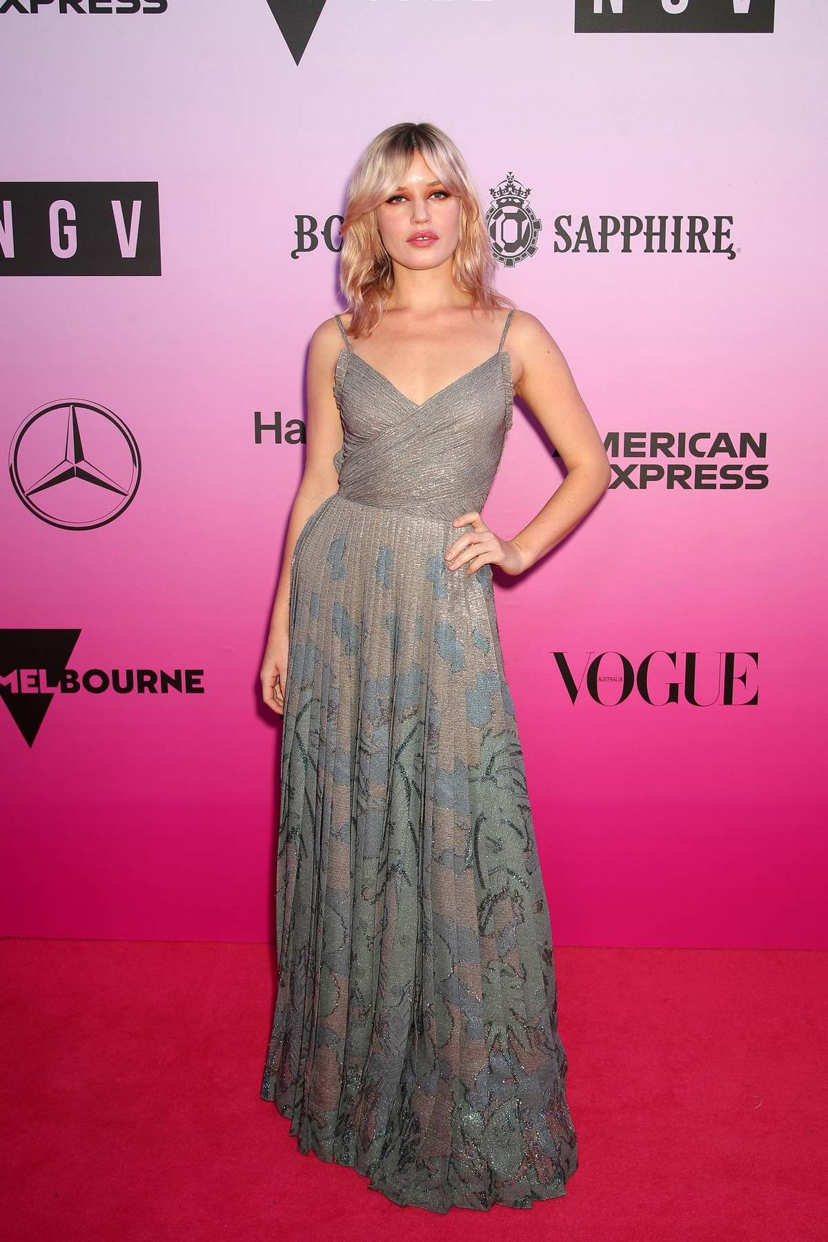 Georgia May Jagger attends the NGV Gala in Melbourne, Australia
