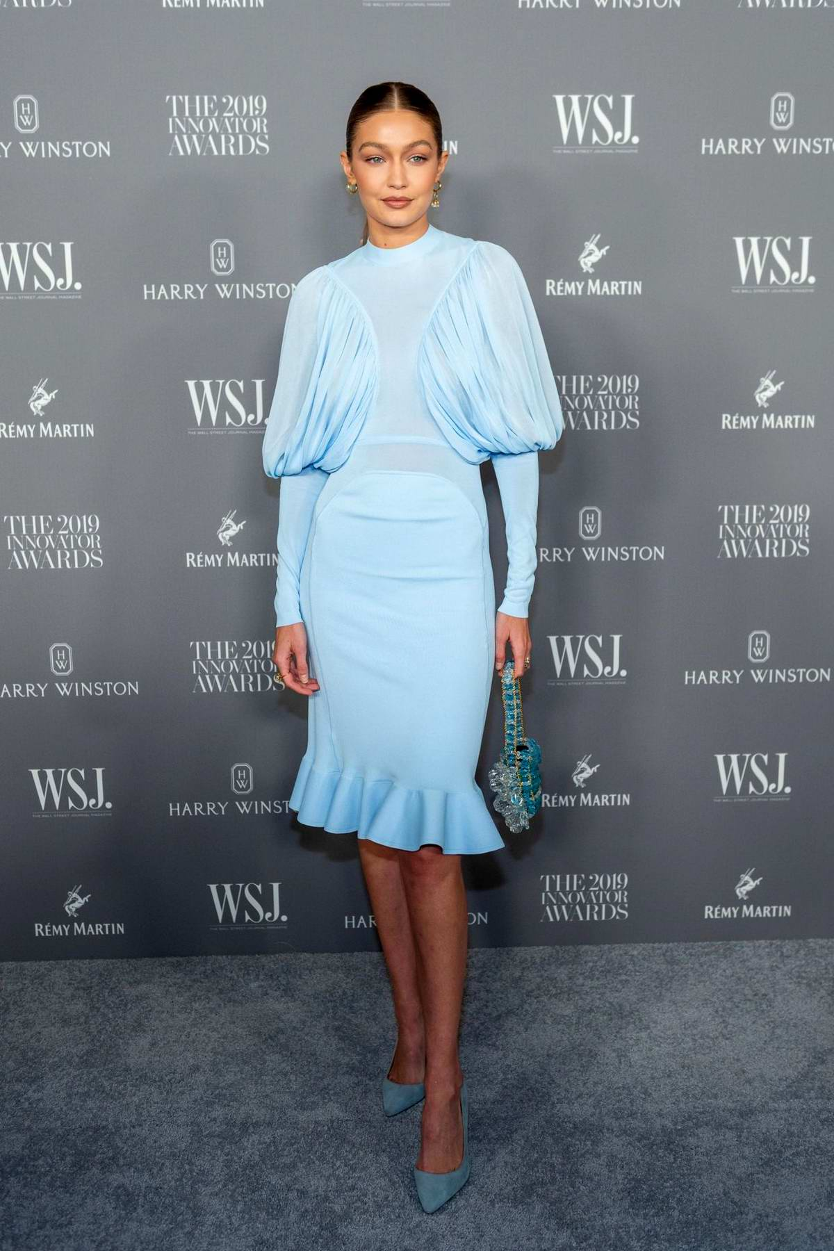 Gigi Hadid attends the 9th Annual WSJ Magazine Innovator Awards at the Museum of Modern Art in New York City