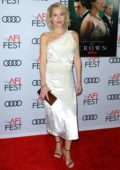 Gillian Anderson attends the AFI gala screening of 'The Crown' in Hollywood, California