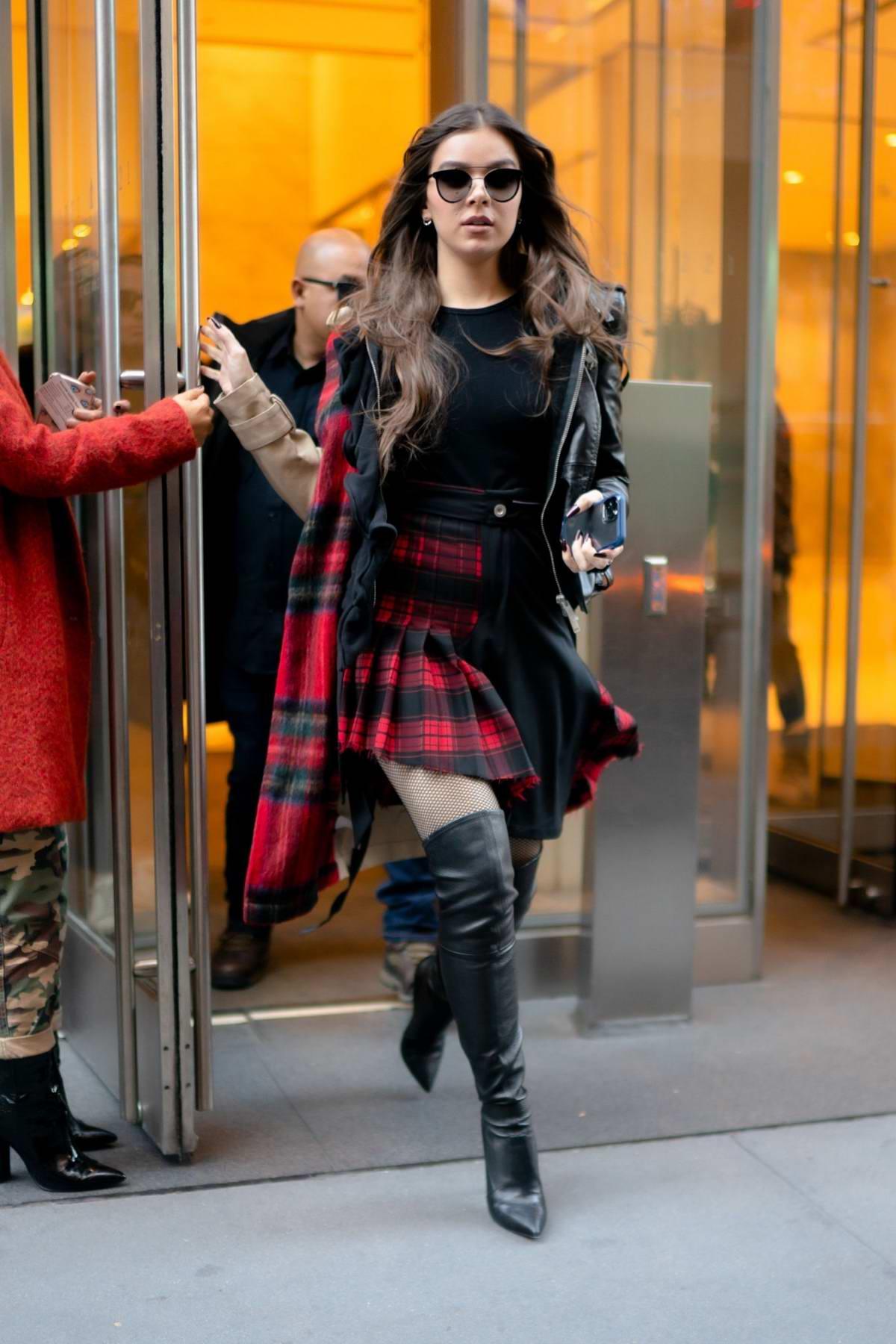 Hailee Steinfeld visits SiriusXM Studios to promote Apple TV+'s 'Dickinson' in New York City