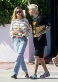 Hailey Bieber and Justin Bieber pick up some juice while out in Miami, Florida