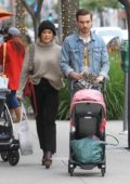 Hilary Duff and Matthew Koma step out for some holiday shopping in Beverly Hills, Los Angeles