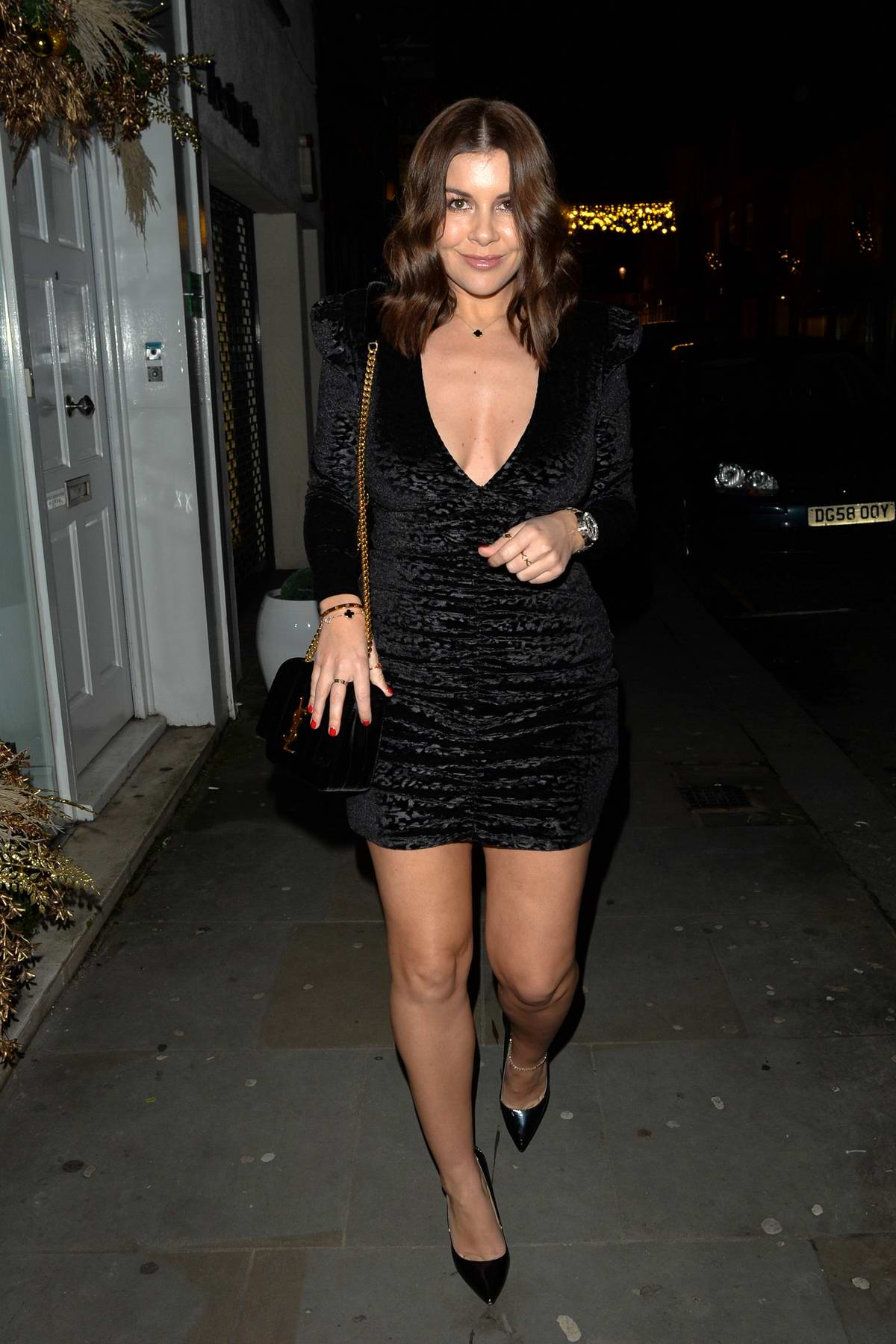 Imogen Thomas celebrates her birthday at Jaks bar in Chelsea, London, UK