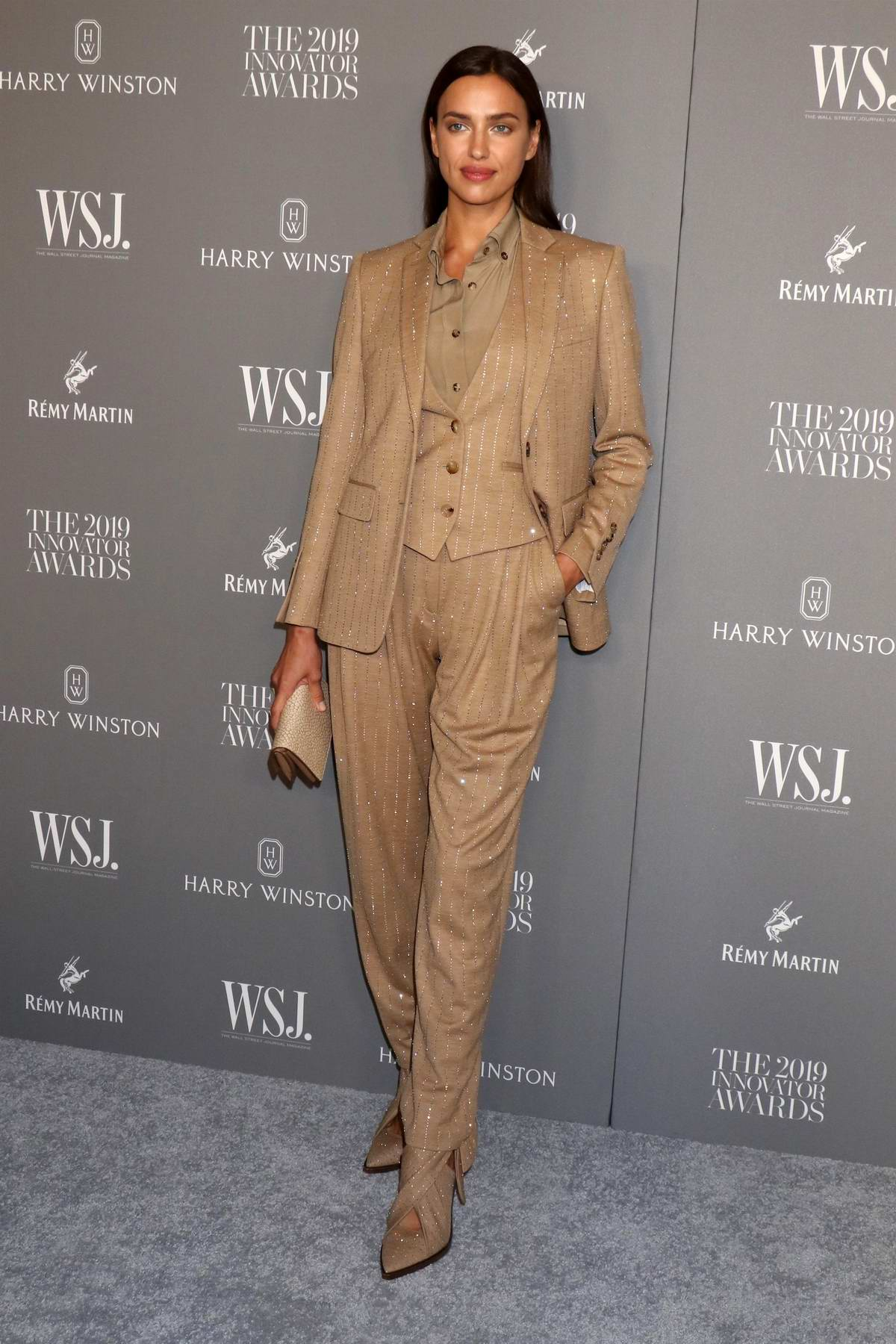 Irina Shayk attends the 9th Annual WSJ Magazine Innovator Awards at the Museum of Modern Art in New York City