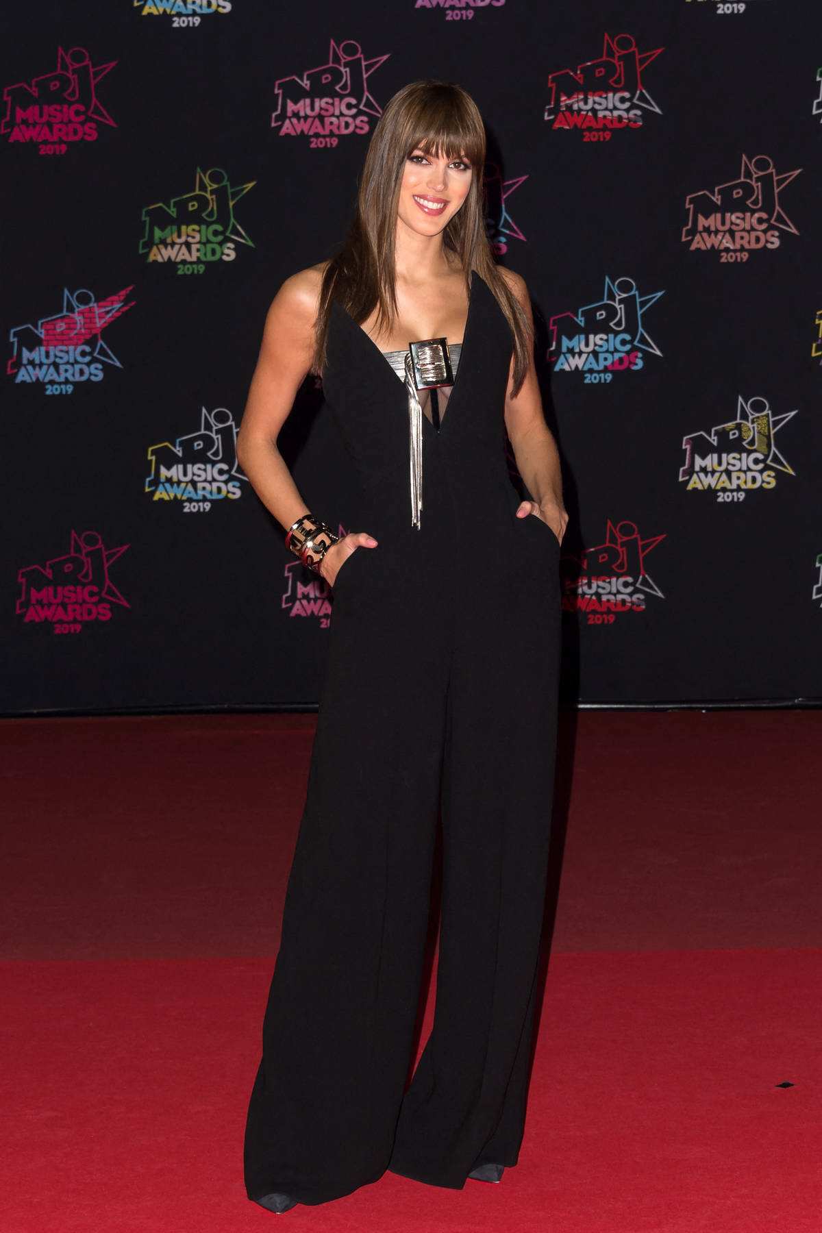 Iris Mittenaere attends the 21st NRJ Music Awards in Cannes, France