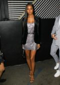 Jasmine Tookes attends Boohoo x All That Glitters Launch Party at Nightingale Plaza in Los Angeles