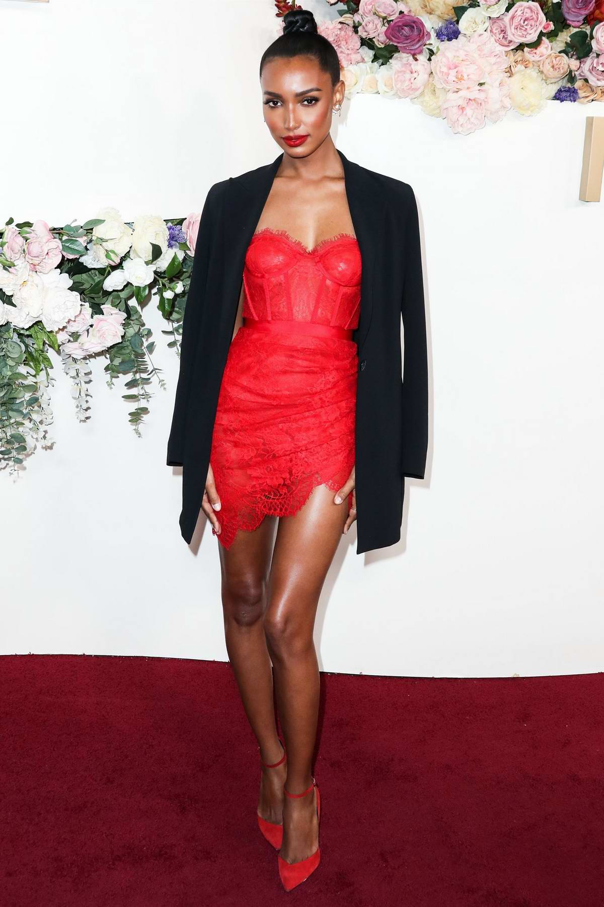 Jasmine Tookes attends the 3rd Annual REVOLVE Awards at Goya Studios in Hollywood, California