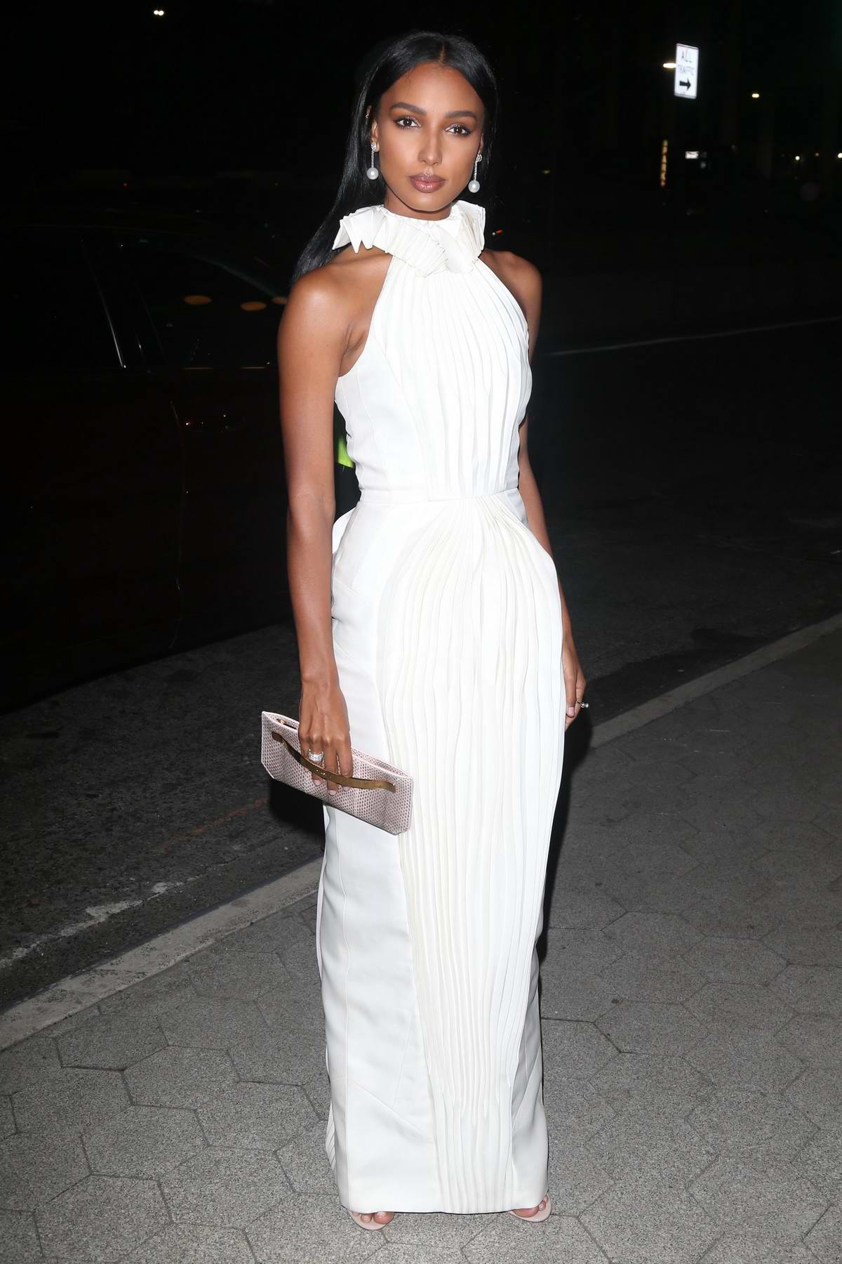 Jasmine Tookes attends the CFDA & Vogue Fashion Fund Awards at Cipriani's in New York City