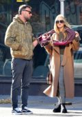 Jennifer Lawrence and Cooke Maroney stepped out in the Lower East Side, New York City