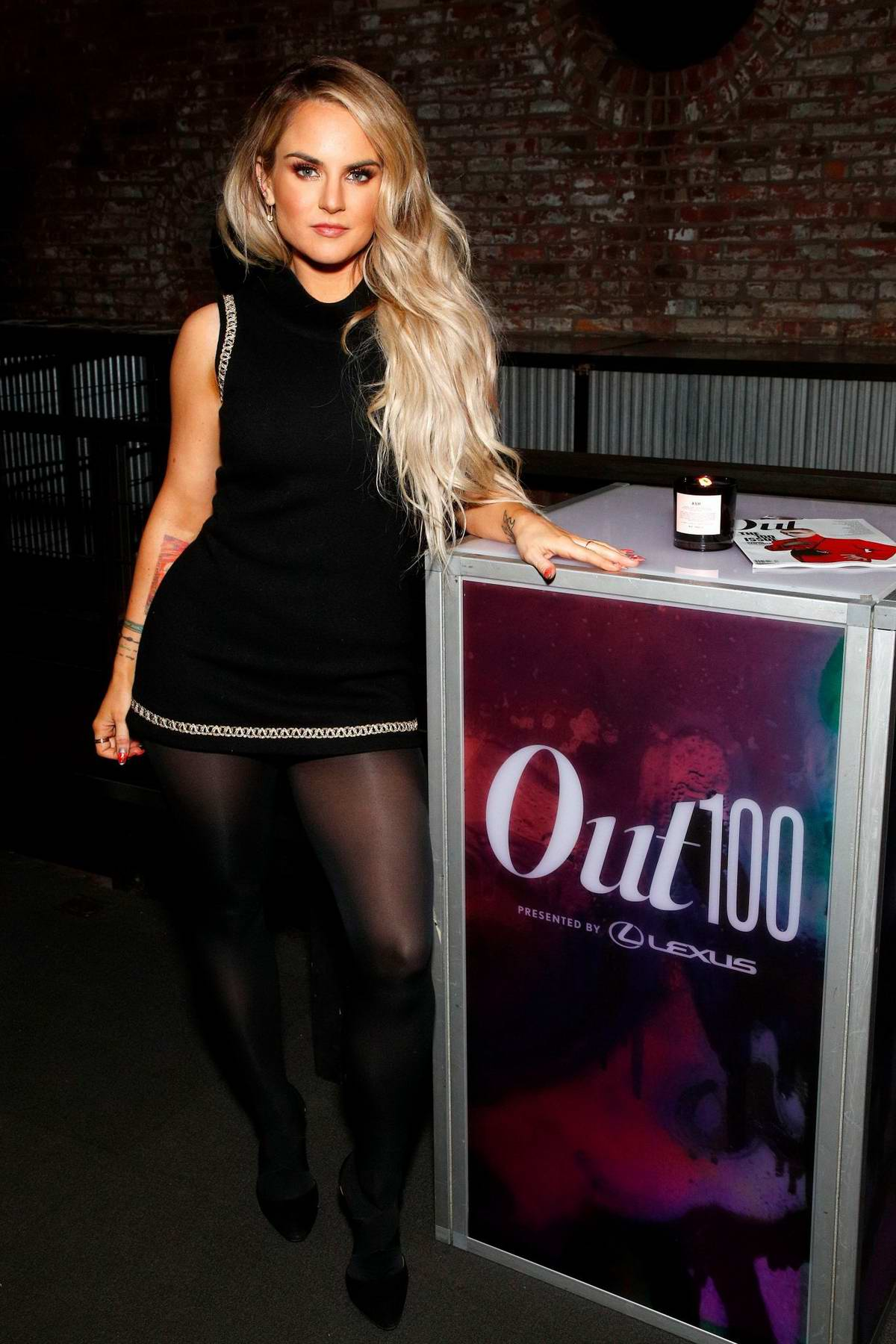 Joanna 'JoJo' Levesque attends Out Magazine's Out100 Event in Long Island City, New York