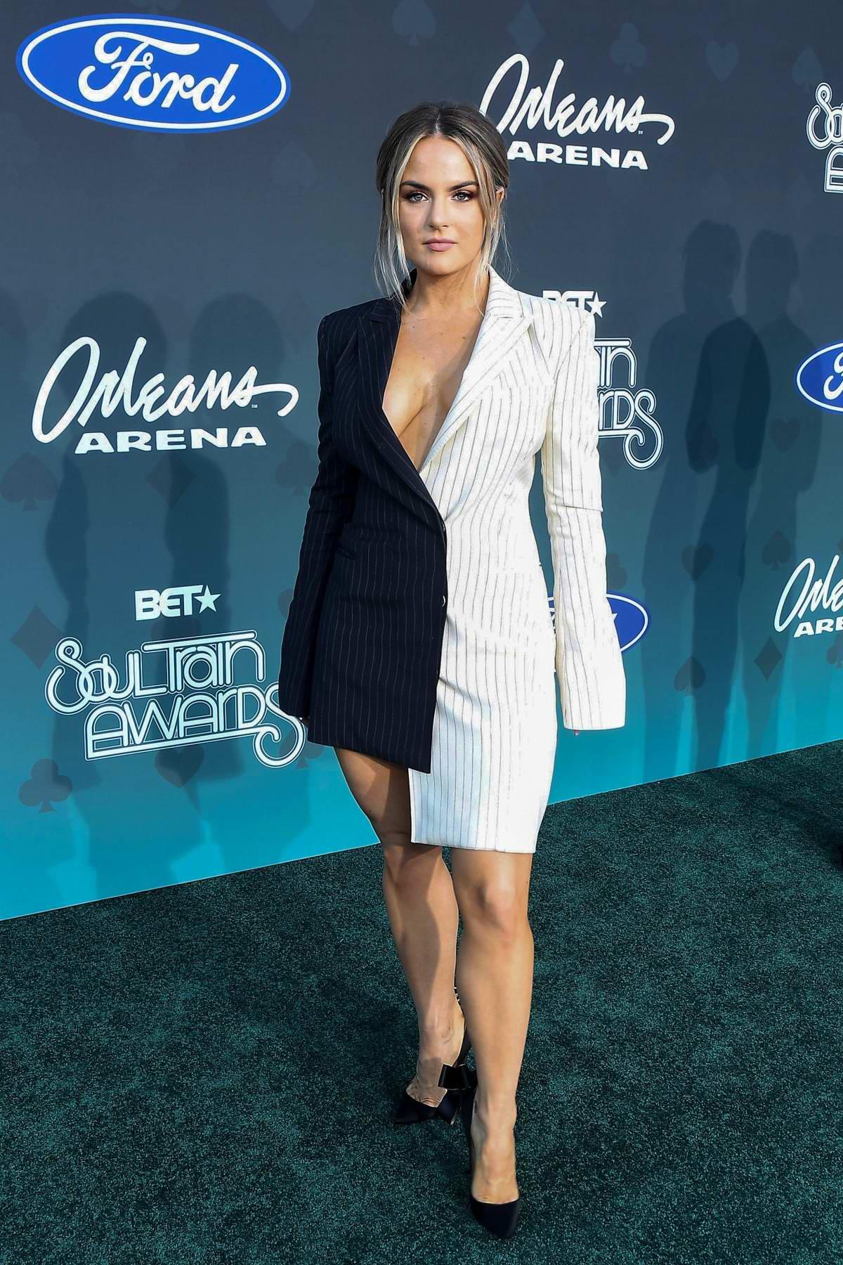 Joanna 'Jojo' Levesque attends the 2019 Soul Train Awards in Las Vegas, NV