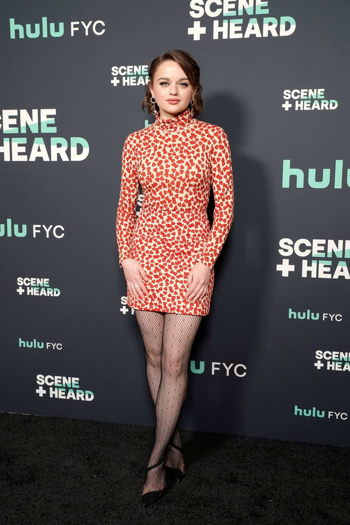 Joey King attends the Hulu 'Scene and Heard' SAG event in West Hollywood, Los Angeles