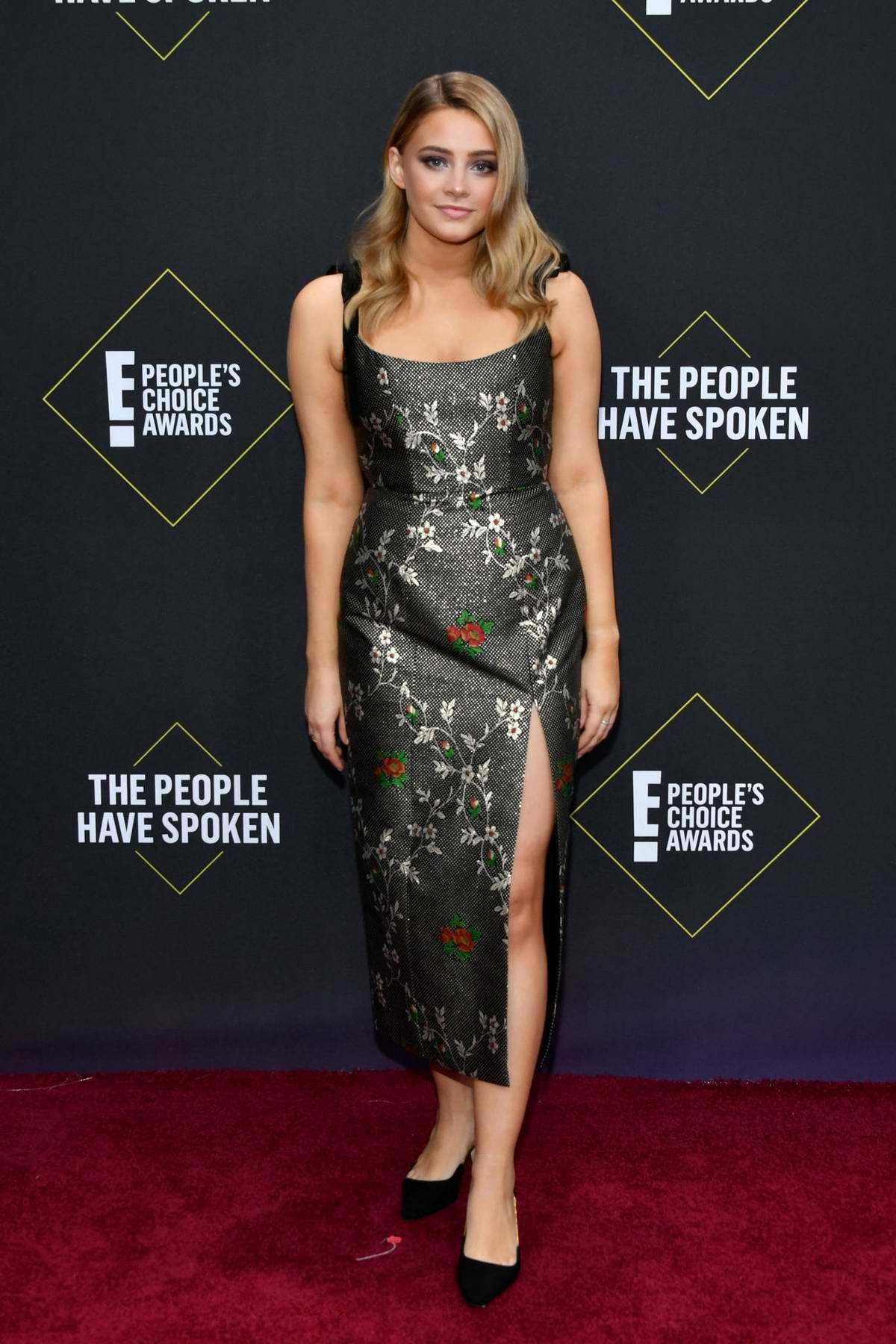 Josephine Langford attends the 2019 E! People's Choice Awards held at the Barker Hangar in Santa Monica, California