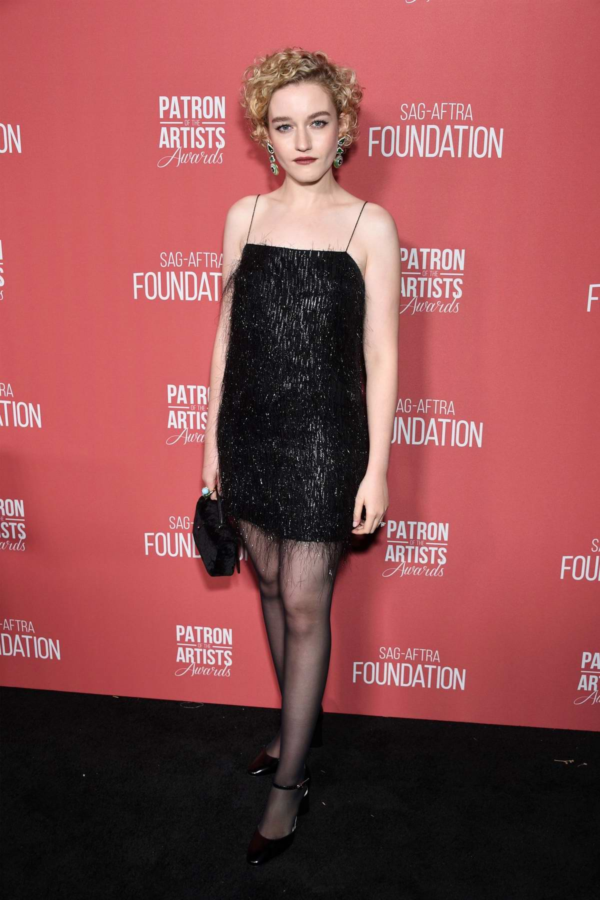 Julia Garner attends the 4th Annual Patron of the Artists Awards in Los Angeles