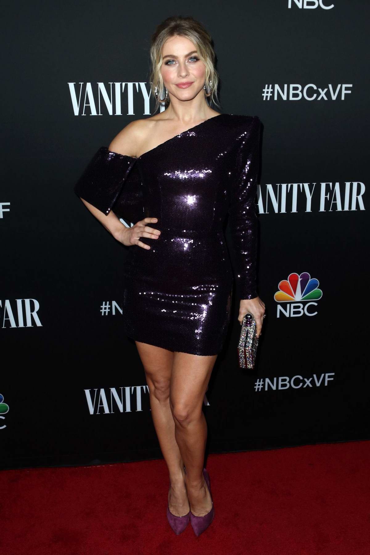 Julianne Hough attends NBC And Vanity Fair's Celebration Of The Season in Los Angeles