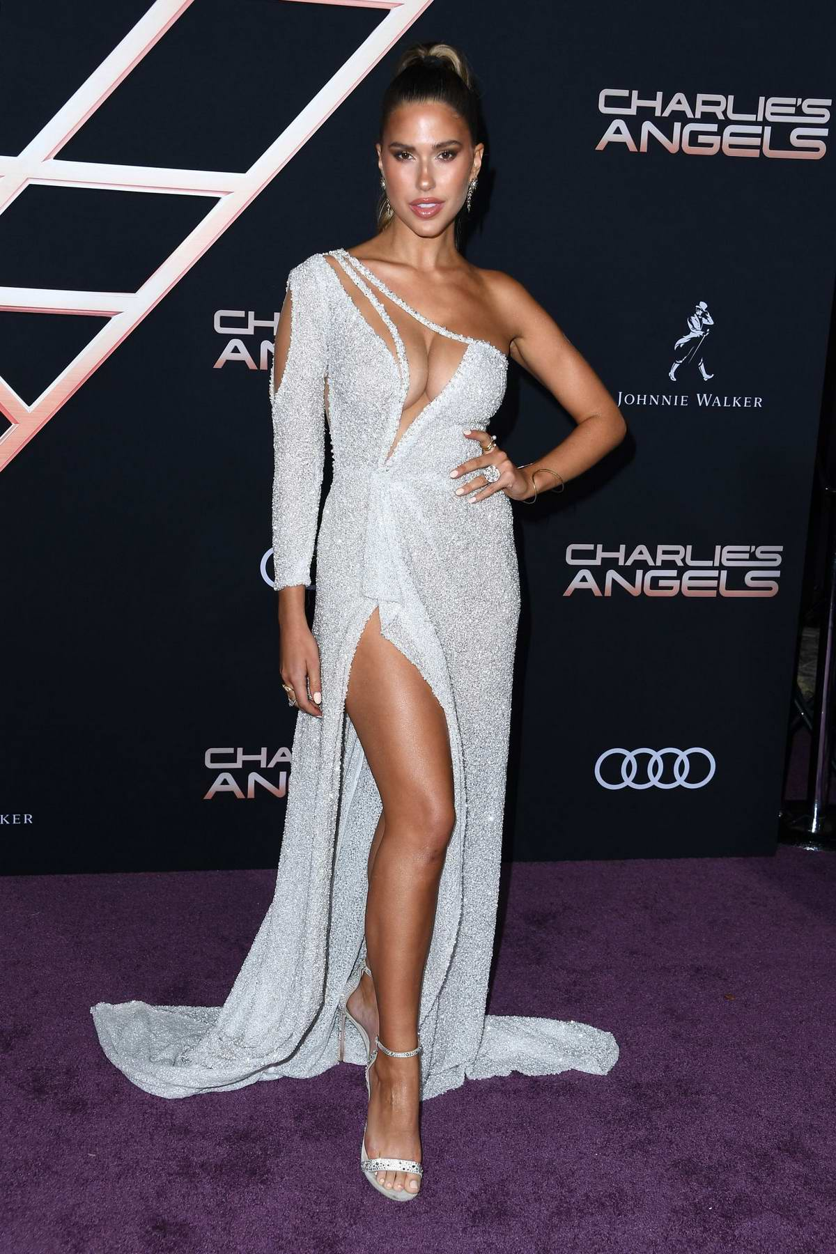 Kara Del Toro attends the Premiere of 'Charlie's Angels' at Westwood Regency Theater in Los Angeles
