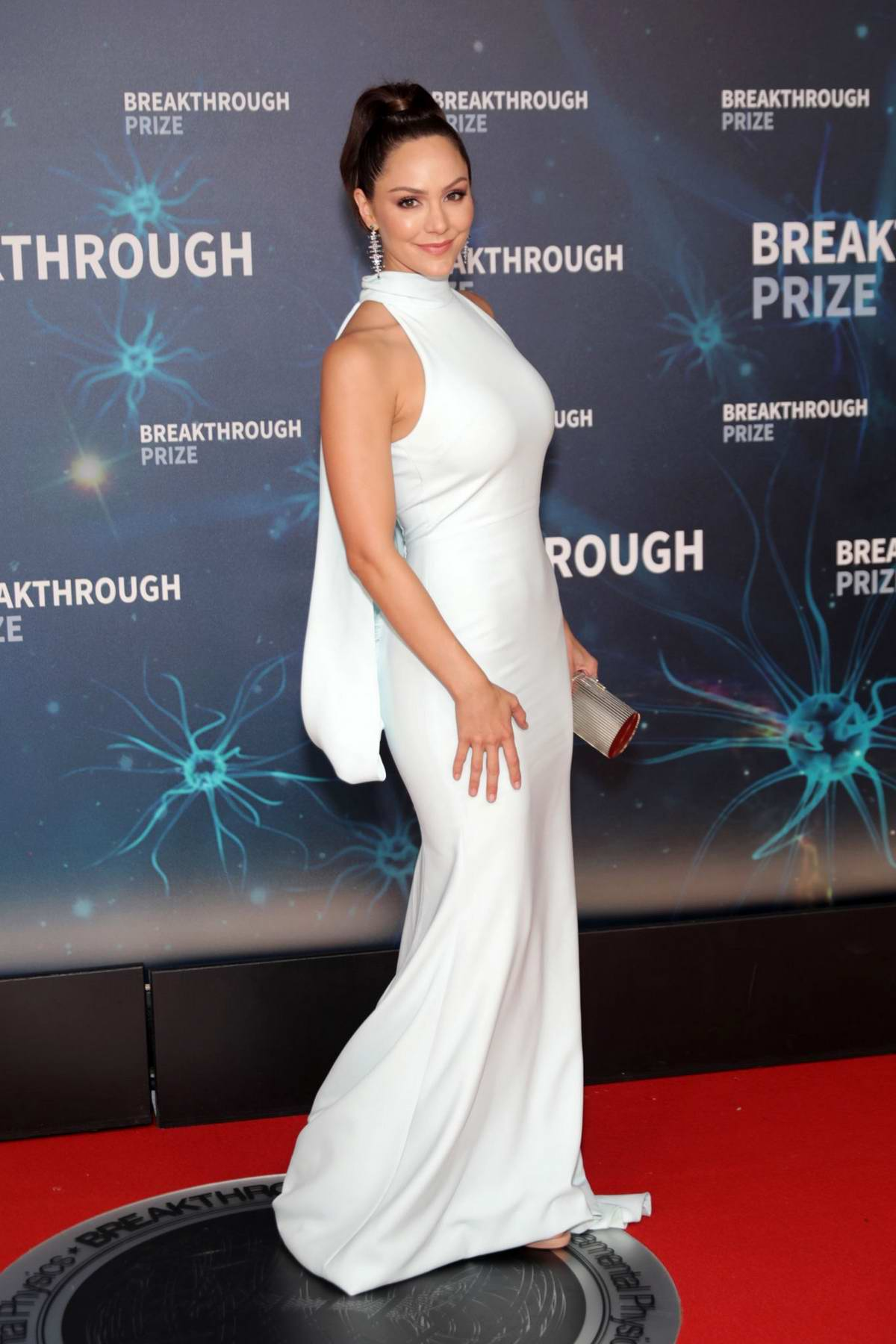 Katharine McPhee attends the 8th Annual Breakthrough Prize Ceremony in Mountain View, California