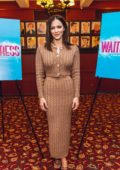 Katharine McPhee attends 'Waitress' press day in New York City