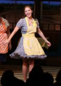 Katharine McPhee rejoins the cast of 'Waitress' at Brooks Atkinson Theatre in New York City