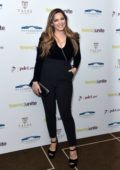 Kelly Brook attends the Teens Unite annual fundraising gala at the Rosewood Hotel in London, UK