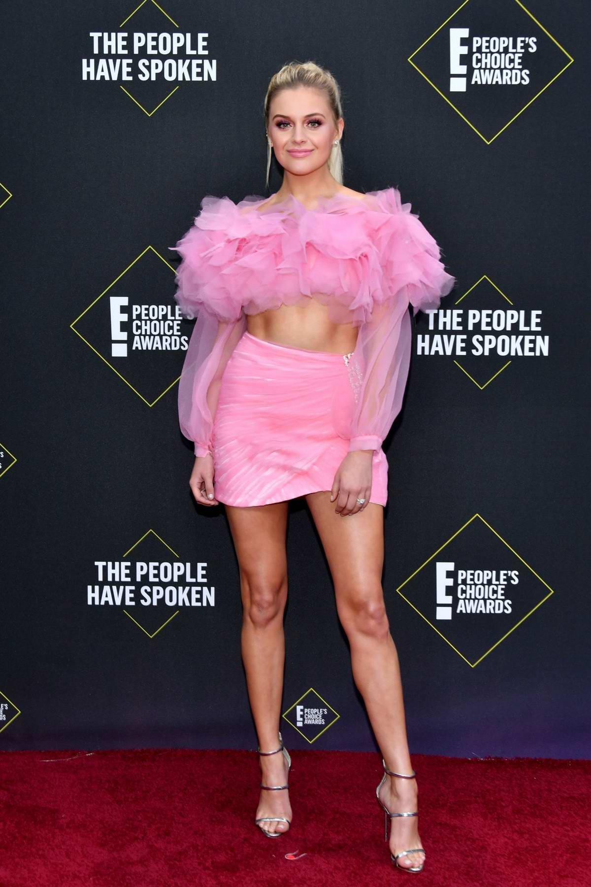 Kelsea Ballerini attends the 2019 E! People's Choice Awards held at the Barker Hangar in Santa Monica, California