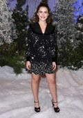 Kiernan Shipka attends a photocall for Netflix's 'Let It Snow' at the Beverly Wilshire Four Seasons Hotel in Los Angeles