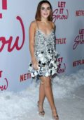 Kiernan Shipka attends the Premiere of Netflix's 'Let It Snow' in Los Angeles