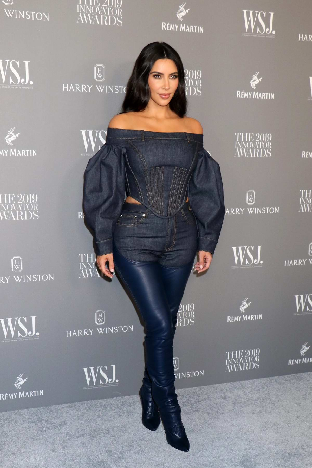 Kim Kardashian attends the 9th Annual WSJ Magazine Innovator Awards at the Museum of Modern Art in New York City