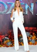 Kimberley Garner attends the European Premiere of Disney's 'Frozen 2' in London, UK