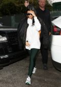 Kourtney Kardashian spotted as she visits a dance class in Studio City, California