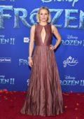 Kristen Bell attends the Premiere of Disney's 'Frozen 2' at Dolby Theatre in Hollywood, California