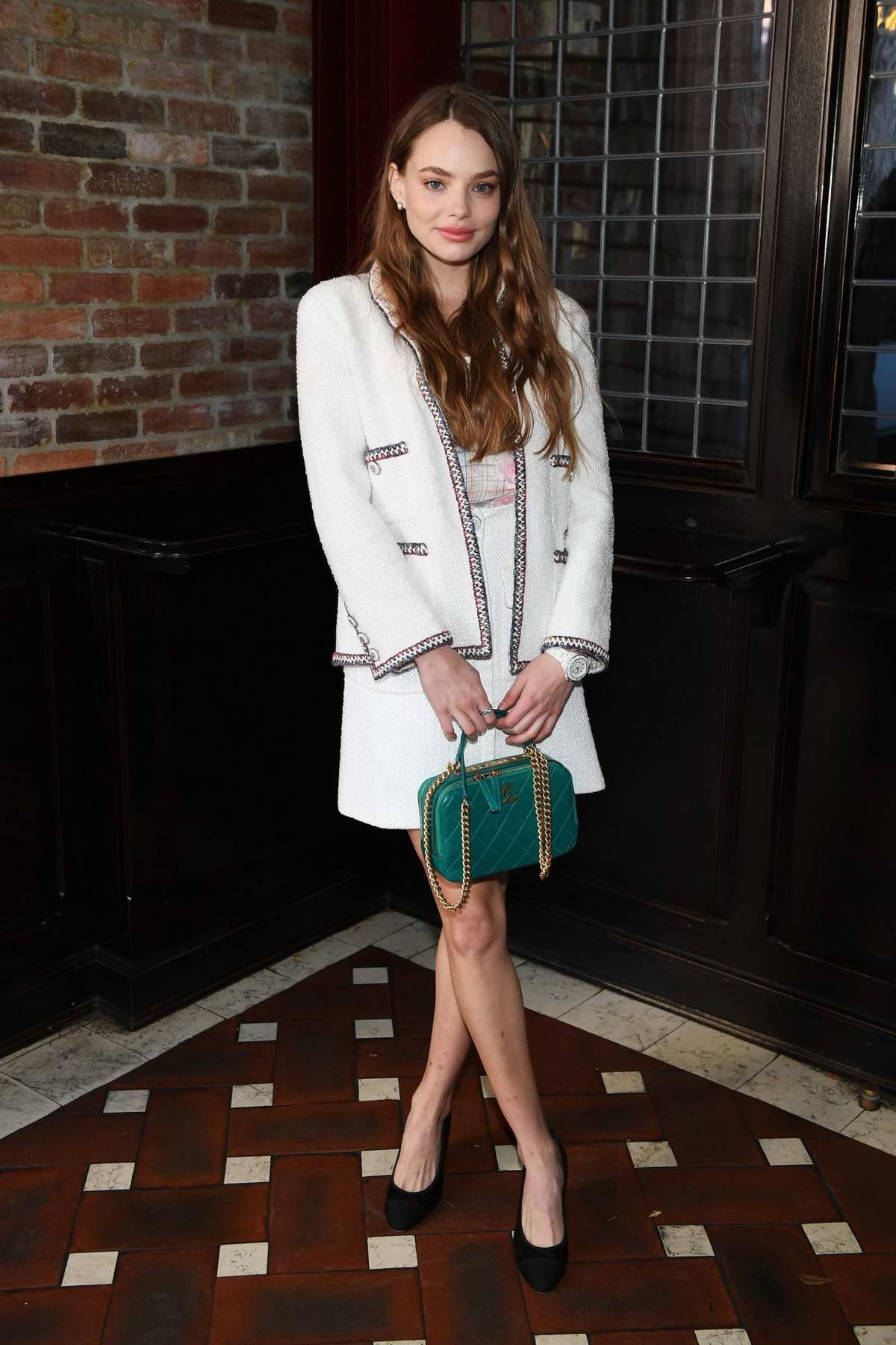 Kristine Froseth attends Through Her Lens: The Tribeca Chanel Women's Filmmaker Program Luncheon in New York City
