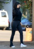 Kylie Jenner seen leaving a dermatologist's clinic in West Hollywood, Los Angeles