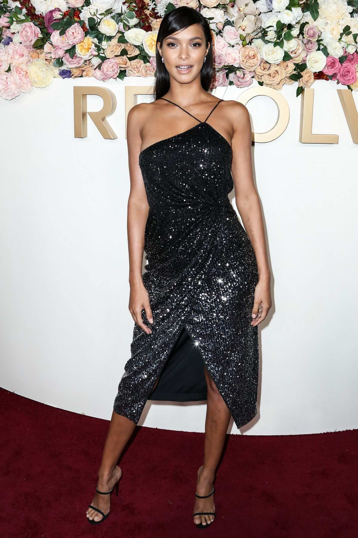 Lais Ribeiro attends the 3rd Annual REVOLVE Awards at Goya Studios in Hollywood, California